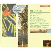 Album artwork for Medtner: Piano Concertos Nos 1,2,3 / Tozer