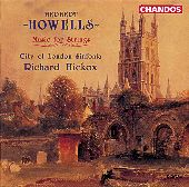 Album artwork for Howells: MUSIC FOR STRINGS