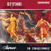 Album artwork for Respighi: Sinfonia Drammatica (Downes)