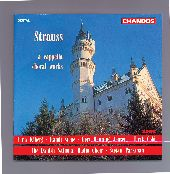 Album artwork for Strauss: A Cappella Choral Works