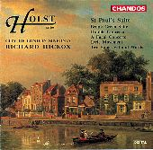 Album artwork for Holst: St. Paul's Suite (Hickox)