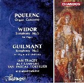 Album artwork for Poulenc: Organ Concerto; Widor, Guilmant / Tracey,