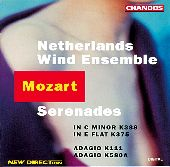 Album artwork for Mozart: Wind Serenades