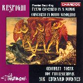 Album artwork for Respighi: Piano Concertos (Downes)