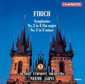 Album artwork for Fibich: Symphonies 2 & 3 / Jarvi