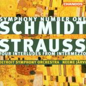Album artwork for Schmidt: Symphony No. 1 / Strauss: Intermezzo