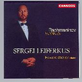 Album artwork for Rachmaninov: Songs For Baritone