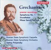 Album artwork for Grechaninov: SYMPHONY NO. 1/ SNOWFLAKES, etc