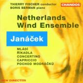 Album artwork for Janacek: Music For Wind Ensemble