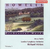 Album artwork for Howells: Orchestral Works (Hickox)