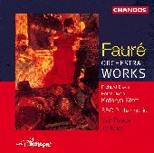 Album artwork for Faure: Orchestral Works