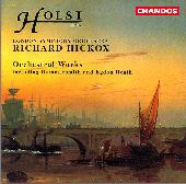 Album artwork for HOLST - FUGAL OVERTURE, SCHERZO, HAMMERSMITH