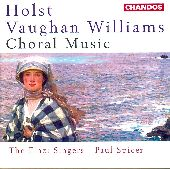 Album artwork for Holst/Vaughan Williams: Choral Music