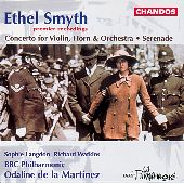 Album artwork for Smyth: Concerto for Violin & Horn, Serenade