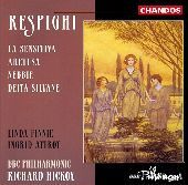 Album artwork for Respighi: Orchestral Songs