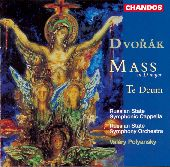 Album artwork for MASS IN D / TE DEUM