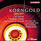 Album artwork for Korngold: Concertos
