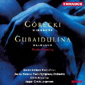 Album artwork for Gorecki : Miserere / Gubaidulina : Alleluia