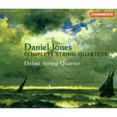Album artwork for Jones: String Quartets No.1-8 / Delme Quartet