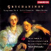 Album artwork for Grechaninov: Symphony No. 4, Cello Concerto