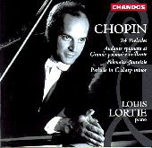 Album artwork for Chopin: 24 Preludes, etc / Louis Lortie