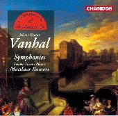 Album artwork for Vanhal: SYMPHONIES