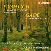 Album artwork for Frohlich: Symphony in E Flat,Op33;Sym#4 B Flat,Op2