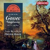 Album artwork for Gossec: Symphonies (Bambert)