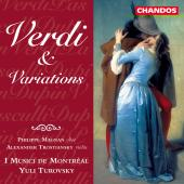 Album artwork for VERDI AND VARIATIONS / Turovsky