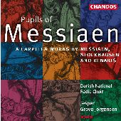 Album artwork for Music by Pupils of Messiaen
