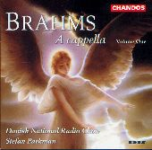 Album artwork for Brahms: A cappella Vol 1 / Parkman