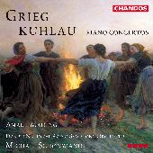 Album artwork for Greig & Kuhlau: PIANO CONCERTOS