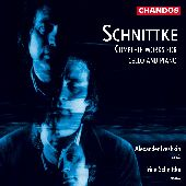 Album artwork for SCHNITTKE - COMPLETE WORKS FOR CELLO AND PIANO