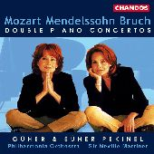 Album artwork for DOUBLE PIANO CONCERTOS