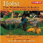 Album artwork for Holst: The Wandering Scholar
