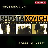 Album artwork for Shostakovich: Complete String Quartets, Vol. 1