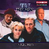 Album artwork for TV THEMES OF NIGEL HESS