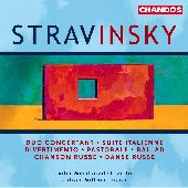 Album artwork for Stravinsky: Works for Violin & Piano