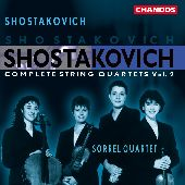 Album artwork for Shostakovich: Complete String Quartets, Vol. 2
