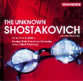 Album artwork for Shostakovich: The Unknown Shostakovich