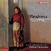 Album artwork for Brahms: Choral Works / Parkman, Danish National Ra