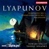 Album artwork for Lyapunov: PIANO CONCERTO NO. 2