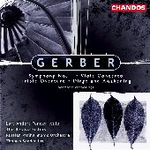 Album artwork for Gerber: Symphony No. 1, Viola Concerto, etc.