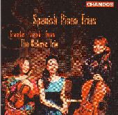 Album artwork for SPANISH PIANO TRIOS
