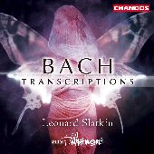 Album artwork for BACH TRANSCRIPTIONS / Slatkin
