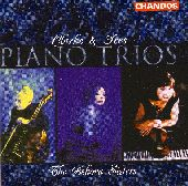 Album artwork for Clarke/Ives: Piano Trios