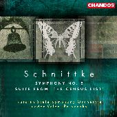 Album artwork for SCHNITTKE : SYMPHONY NO.8, SUITE FROM THE CENSUS L
