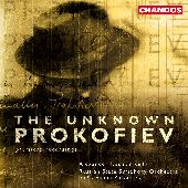 Album artwork for UNKNOWN PROKOFIEV, THE