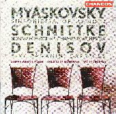 Album artwork for Myaskovsky/Schnittke/Denisov (Turovsky)