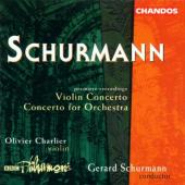Album artwork for SCHURMANN: VIOLIN CONCERTO ETC.